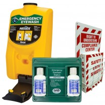 Emergency Eyewash Station Portable OSHA - Bundle - Encon - SAS
