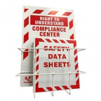 SafetyBee SDS (MSDS) Center - Binder, Rack, and Sign - Right to Understand - GHS Compliant