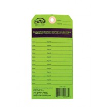SAS Eyewash Service Tag for SAS 5135
