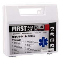 10-Person First-Aid Kit, ANSI 2015 compliant