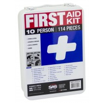 10-Person First-Aid Kit [Metal Case]