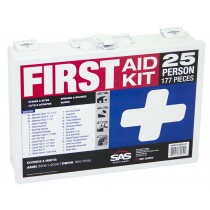 25-Person First-Aid Kit [Metal Case]