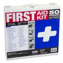 50-Person First-Aid Kit [Metal Case]  OSHA ANSI