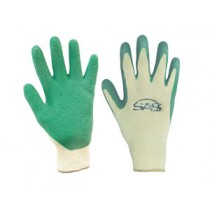 Cotton/Poly Knit- Latex Coated Palm Glove  - Bulk