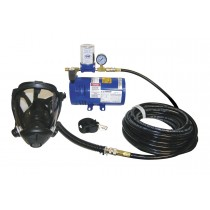 One-Man Opti-Fit Fullface Mask Supplied-Air System 9800-35