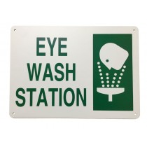 "Eyewash Station Sign (10""x14"")"